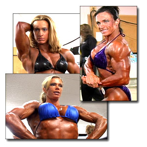 2004 NPC Junior National Championships Women's Bodybuilding Pump Room