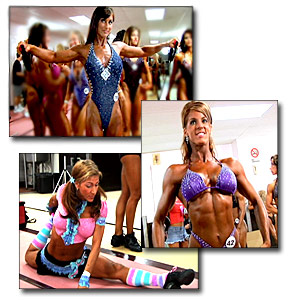 2005 NPC Junior National Women's Fitness and Figure Pump Room