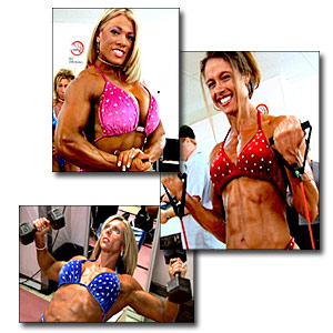 2005 NPC Junior National Women's Bodybuilding Pump Room