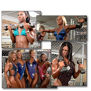 2005 NPC National Women's Fitness Pump Room