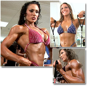 2006 NPC Junior National Fitness and Figure Championships Women's Pump Room