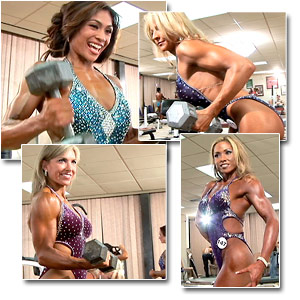 2006 NPC USA Figure Championships Women's Pump Room