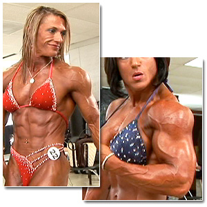 2007 NPC Junior National Bodybuilding Championships Women's Pump Room