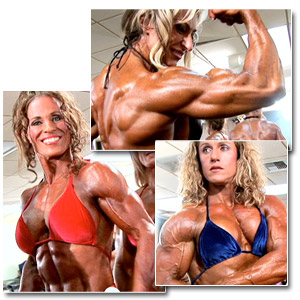 2007 NPC USA Bodybuilding Championships Women's Pump Room