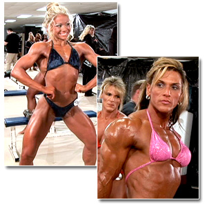 2008 NPC Junior National Championships Women's Bodybuilding Pump Room