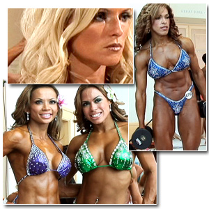 2009 NPC National Figure and Bikini Championships Women's Pump Room