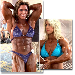 2011 NPC Masters Nationals Women's Bodybuilding Pump Room