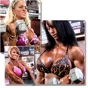 2011 NPC National Championships Women's Physique Pump Room