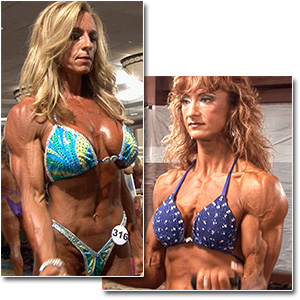 2012 NPC Masters Nationals Women's Bodybuilding & Physique Pump Room