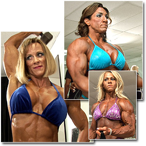 2012 NPC Nationals Women's Bodybuilding Pump Room