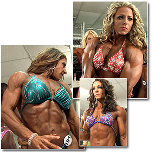 2012 NPC Nationals Women's Physique Pump Room