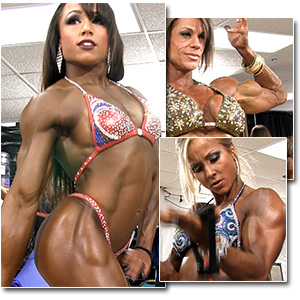 2013 NPC Junior Nationals Women's Bodybuilding & Physique Pump Room