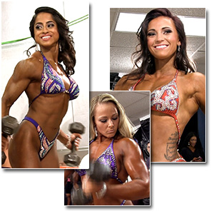 2013 NPC Junior Nationals Women's Fitness & Figure Pump Room