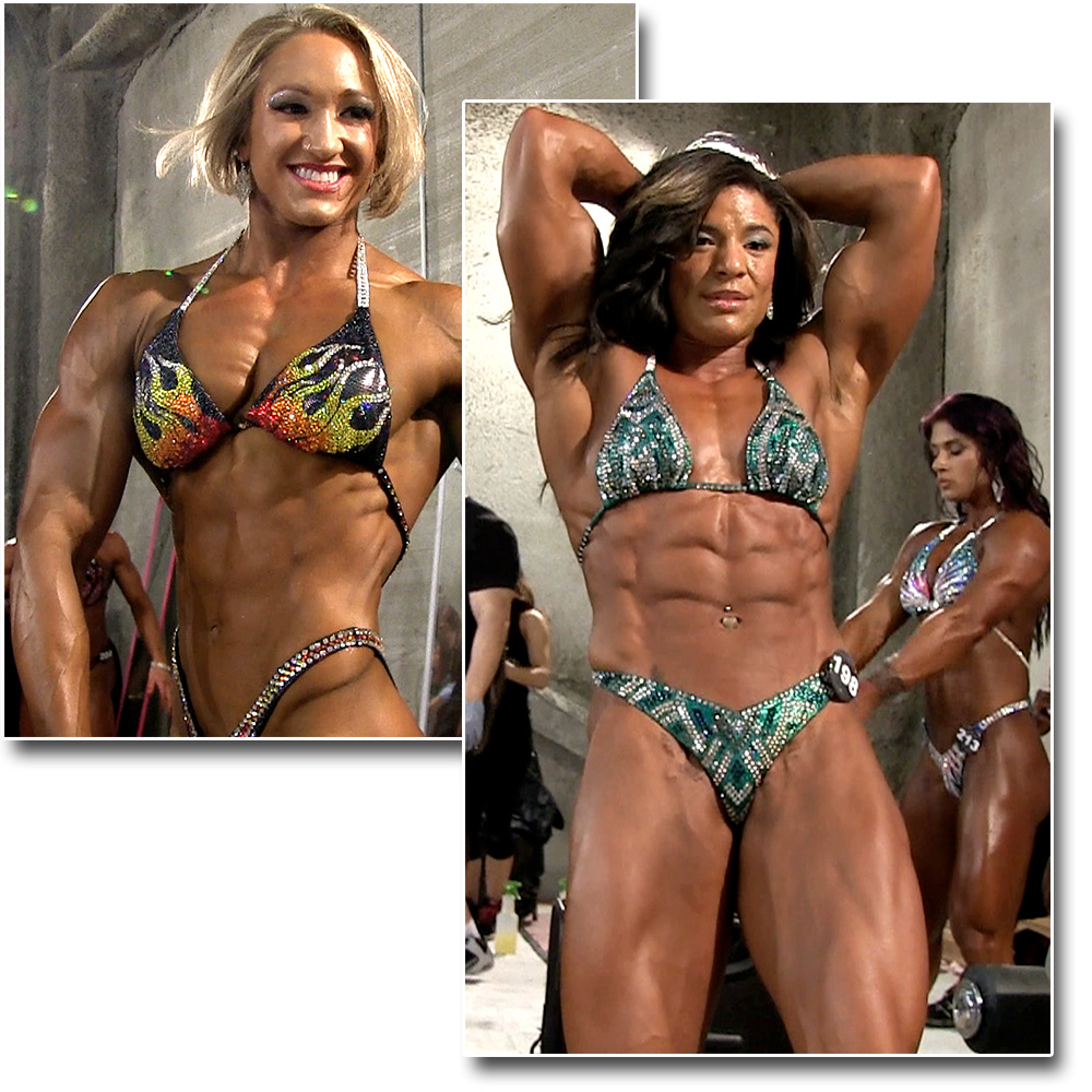 2015 NPC National Championships Women's Physique Pump Room