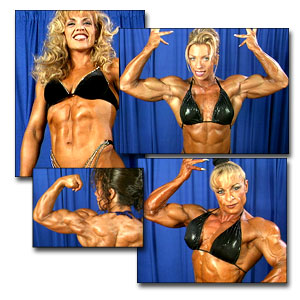 1999 NPC Nationals Women's Backstage Posing