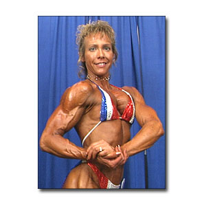 2000 NPC Junior Nationals Women's Backstage Posing