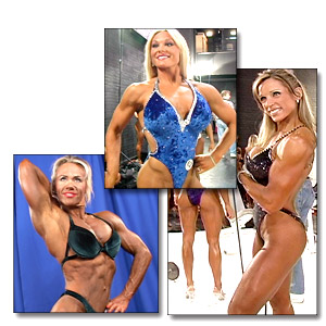 2004 NPC Junior USA Women's Backstage Posing & Pump Room
