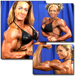 2004 NPC Junior National Championships Women's Bodybuilding Backstage Posing