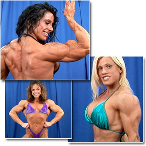 2006 NPC USA Bodybuilding Championships Women's Backstage Posing