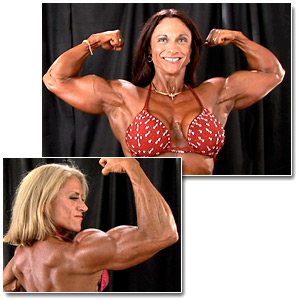 2007 NPC Junior National Bodybuilding Championships Women's Backstage Posing