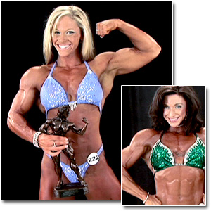 2008 NPC Junior National Championships Women's Bodybuilding Backstage Posing