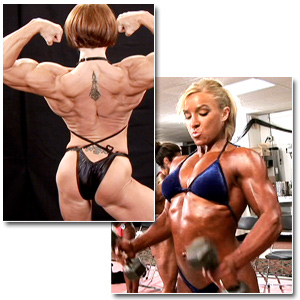 2009 NPC Junior Nationals Women's Bodybuilding Backstage Posing & Pump Room