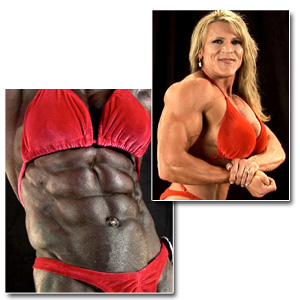 2011 NPC National Championships Women's Backstage Posing Part 2