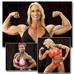 2012 NPC Masters Nationals Women's Bodybuilding & Physique Backstage Posing
