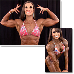 2013 NPC Junior Nationals Women's Bodybuilding & Physique Backstage Posing