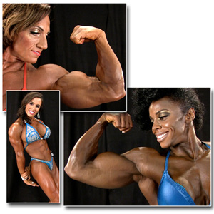 2014 NPC Nationals Women's Bodybuilding & Physique Backstage Posing