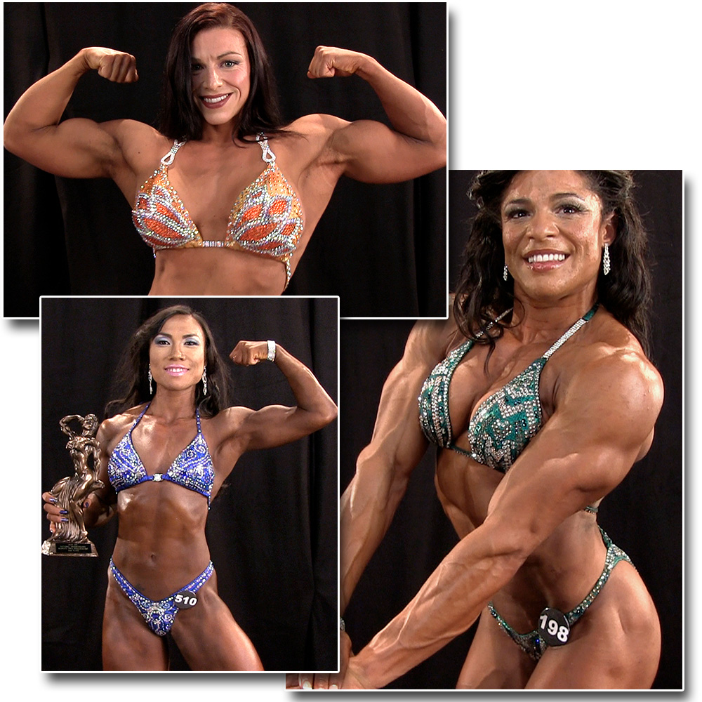 2015 NPC National Championships Women's Bodybuilding & Physique Backstage Posing