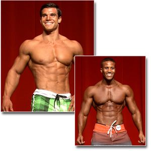 2013 NPC Southern States Men's Physique & Fitness Prejudging