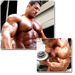 2008 IFBB/PBW Pro Bodybuilding Championships Men's Pump Room