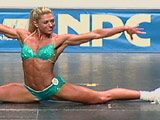 2002 NPC USA Women's Fitness Prejudging