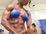 2001 NPC Junior Nationals Women's Pump Room