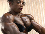 2002 NPC USA Women's Bodybuilding Pump Room