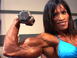 2004 NPC National Championships Women's Bodybuilding Pump Room Part 2