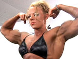 2005 NPC National Women's Bodybuilding Pump Room Part 2