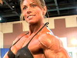 2006 NPC National Bodybuilding Championships Women's Pump Room Part 1