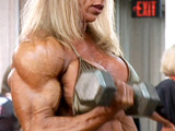 2008 NPC USA Bodybuilding Championships Women's Pump Room Part 2