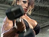 2014 NPC Nationals Women's Bodybuilding Pump Room