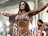 2014 NPC Nationals Women's Figure Pump Room