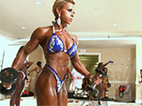 2015 IFBB PBW Tampa Pro Women's Figure & Fitness Pump Room