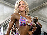 2015 NPC National Championships Women's Figure Pump Room