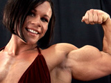 2009 NPC USA Championships Women's Bodybuilding Backstage Posing Part 2