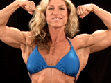 2009 NPC National Bodybuilding Championships Women's Backstage Posing Part 1