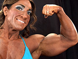 2012 NPC Nationals Women's Bodybuilding & Physique Backstage Posing Part 2
