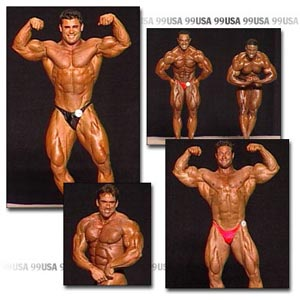 1999 NPC USA Men's Prejudging Part 2
