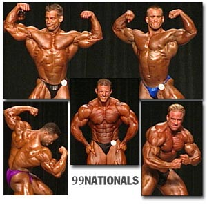 1999 NPC Nationals Men's Prejudging Part 2