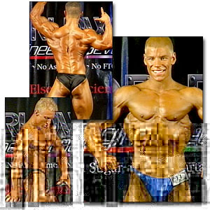 2000 NPC Teen/Collegiate Nationals Men's Prejudging